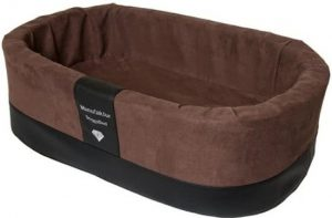 Doggybed-Orthopedische-Hondenmand-Paddy-Style-Bruin-70×45-cm