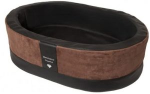 Doggybed-Orthopedische-Hondenmand-Paddy-Style-Bruin-90×60-cm