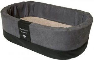 Doggybed-Orthopedische-Hondenmand-Paddy-Style-Grijs-55×42-cm-3