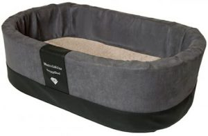 Doggybed-Orthopedische-Hondenmand-Paddy-Style-Grijs-70×45-cm-3