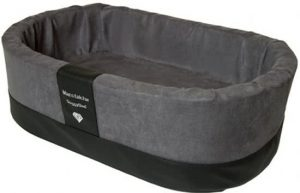 Doggybed-Orthopedische-Hondenmand-Paddy-Style-Grijs-70×45-cm