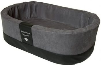 Doggybed Orthopedische Hondenmand Paddy Style Grijs 70x45 cm