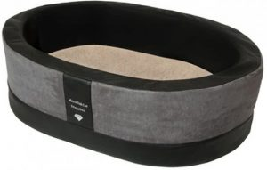 Doggybed-Orthopedische-Hondenmand-Paddy-Style-Grijs-90×60-cm-3
