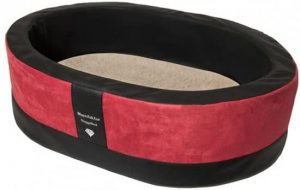 Doggybed-Orthopedische-Hondenmand-Paddy-Style-Rood-100×80-cm-3