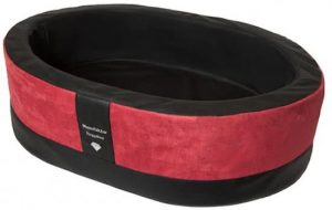 Doggybed-Orthopedische-Hondenmand-Paddy-Style-Rood-100×80-cm