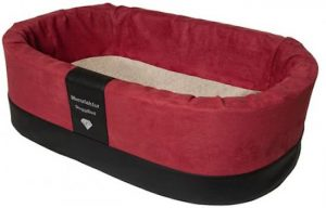 Doggybed-Orthopedische-Hondenmand-Paddy-Style-Rood-55×42-cm-3