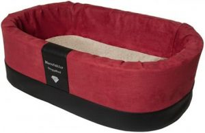 Doggybed-Orthopedische-Hondenmand-Paddy-Style-Rood-70×45-cm-3