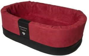 Doggybed-Orthopedische-Hondenmand-Paddy-Style-Rood-70×45-cm