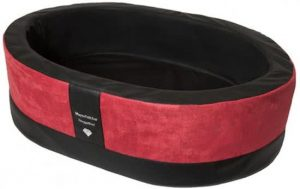Doggybed-Orthopedische-Hondenmand-Paddy-Style-Rood-90×60-cm