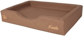 Doggybed Orthopedische Hondenmand Soft Style Mocca 50x75 cm