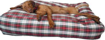 Dog's Companion Hondenkussen Rood 95x140 cm