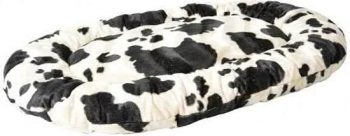 Duvo Hondenkussen Zwart | Wit 60x90 cm