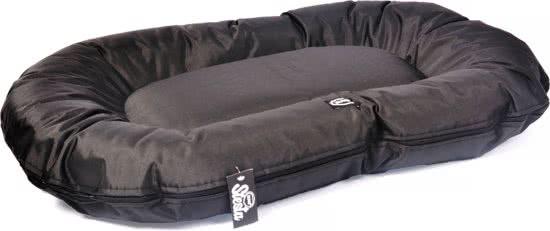 Duvo Siesta Caviar Pillow - Hondenkussen Zwart 100x73 cm