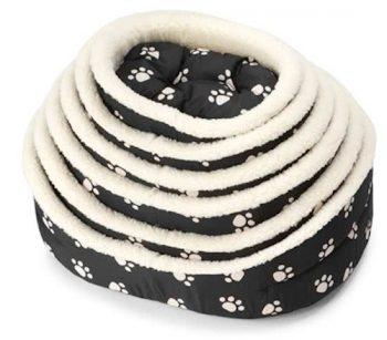 Ebi Hondenmand Paw & Sheepskin Zwart 62X75 Cm