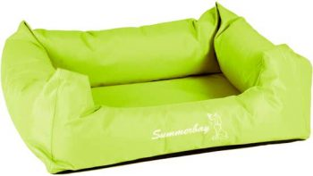 Flamingo Summerbay Bed Lime Groen 80x67 cm
