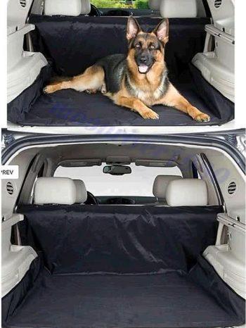 ForDig Waterafstotende autohoes voor hond Zwart 125x2 cm