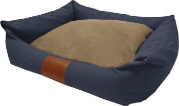 Frankie Canvas Lock - Hondenmand Marine Blauw 70X90 Cm