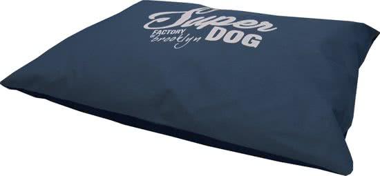 Frankie Super Dog - Hondenkussen Antraciet 100x70 cm