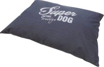 Frankie Super Dog - Hondenkussen Marine Blauw 70x100 cm