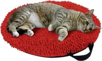 Karlie Flamingo ligbed catmaxx Rood 45x45 cm