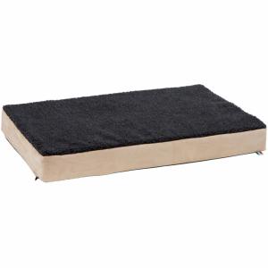 Kerbl Hondenmatras met traagschuim 100x60 cm beige en grijs 80327