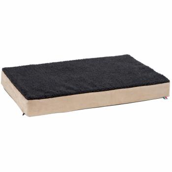Kerbl Hondenmatras met traagschuim 115x75 cm beige en grijs 80328