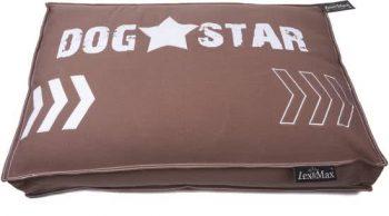 Lex & Max Dogstar - Hondenkussen - Boxbed Taupe | Bruin 80x120 cm