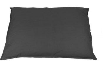 Lex & Max Tivoli - Hondenkussen - Bench Antraciet | Grijs 50x75 cm