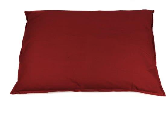 Lex & Max Tivoli Hondenkussen Bordeaux Rood 70x100 cm