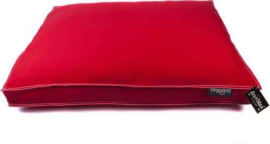 Lex & Max Tivoli - Hondenkussen - Boxbed Rood 50x75 cm
