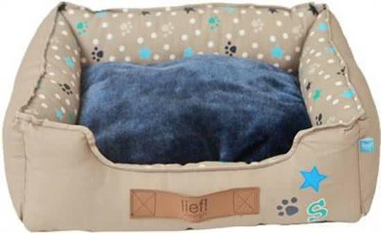 Lief! Divan Boys - Hondenmand Blauw 40x50 cm