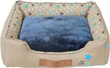 Lief! Divan Boys - Hondenmand Blauw 50x60 cm