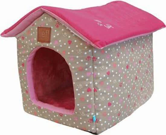 Lief! Huis Girls - Hondenmand Roze