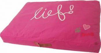 Lief! Lounge Ligkussen Girls Fuchsia 70x100 cm