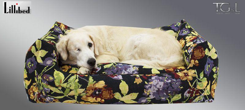 Lillibed® Hondenmand Gobelin Millefiori 57 x 45 x 22 cm