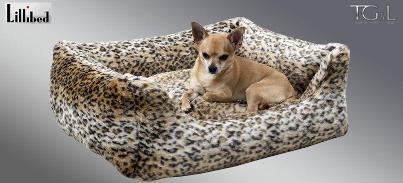 Lillibed® Hondenmand Imitatiebont Lynx 57 x 45 x 22 cm