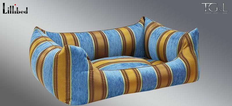 Lillibed® Hondenmand Moreno Aqua 57 x 45 x 22 cm