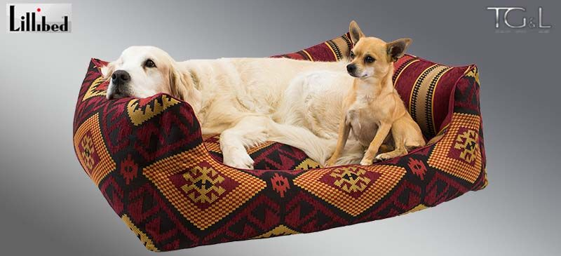 Lillibed® Hondenmand Navarro Rood 57 x 45 x 22 cm