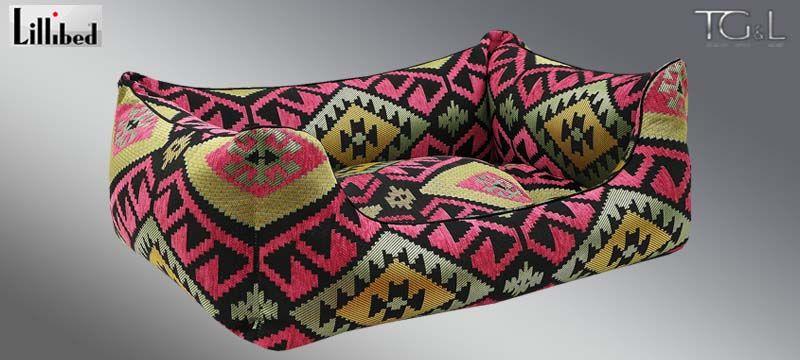 Lillibed® Hondenmand Navarro Roze 57 x 45 x 22 cm