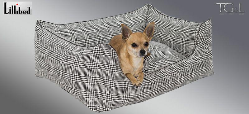 Lillibed® Hondenmand Pepito Antraciet 57 x 45 x 22 cm