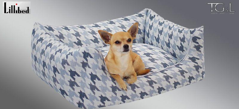 Lillibed® Hondenmand Pippistrello Blauw 57 x 45 x 22 cm