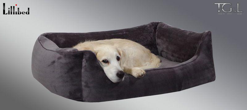 Lillibed® Hondenmand Pure Grijs 57 x 45 x 22 cm
