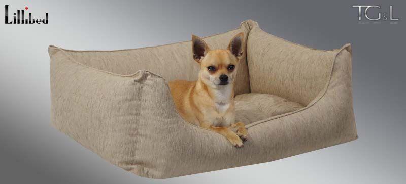 Lillibed® Hondenmand Tiziano Beige 57 x 45 x 22 cm
