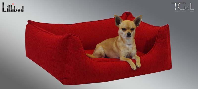 Lillibed® Hondenmand Tiziano Rood 57 x 45 x 22 cm