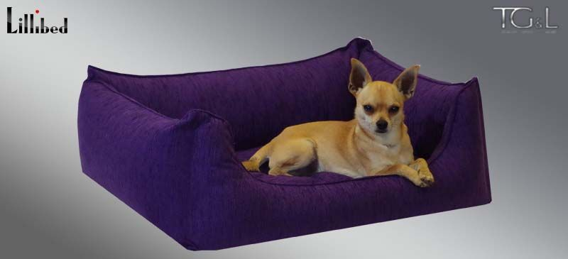 Lillibed® Hondenmand Tiziano Violet 57 x 45 x 22 cm