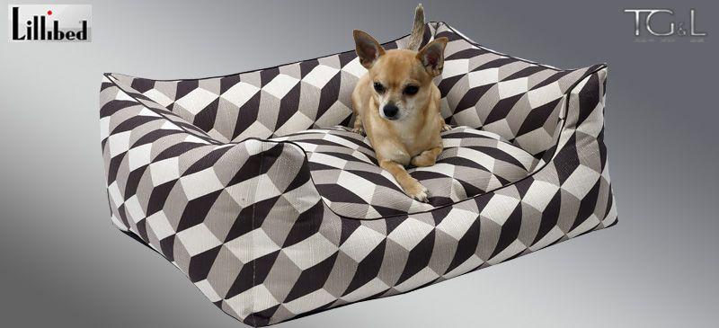 Lillibed® Hondenmand Vasarely Beige 57 x 45 x 22 cm