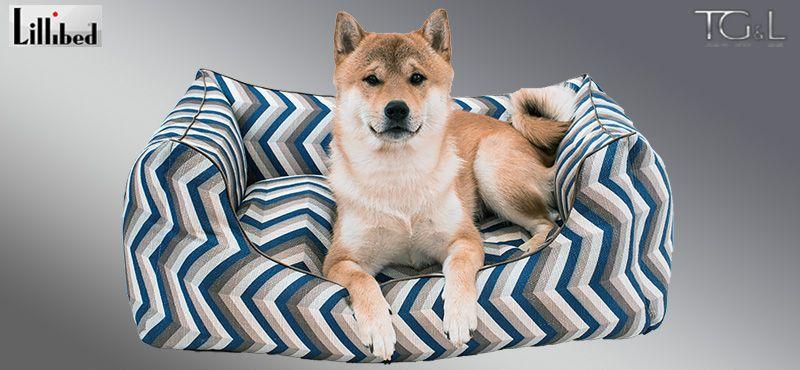 Lillibed® Hondenmand Vision Blauw 57 x 45 x 22 cm