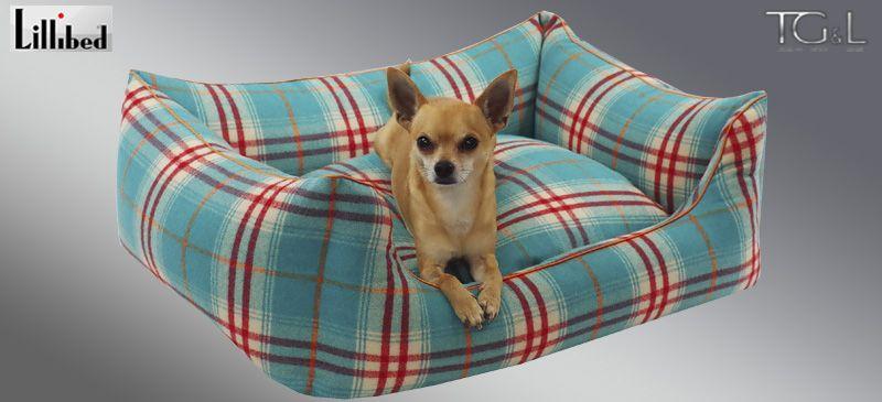 Lillibed® Hondenmand Zenya Groen 57 x 45 x 22 cm