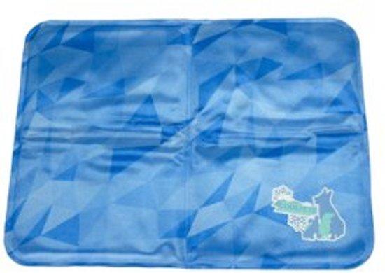 Massion.Nl Cool Dog Koelmat 24/7 Blauw 90x60 cm
