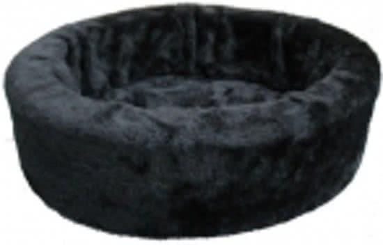 Merkloos Bontmand Hondenmand Zwart